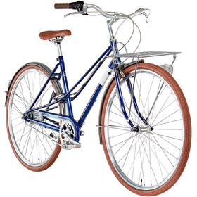 Creme Caferacer Solo Dames, classic blue